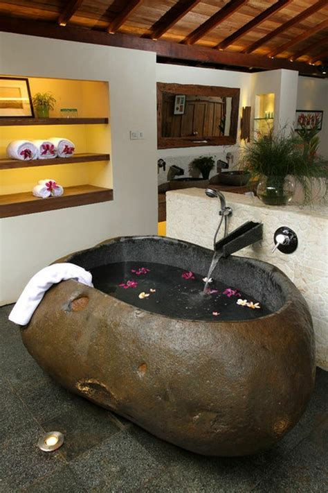 Freistehende Badewanne Die Moderne Badeinrichtungfreistehende Stein Badewanne by Freistehende Badewanne Blickfang Und Luxus Im Badezimmer