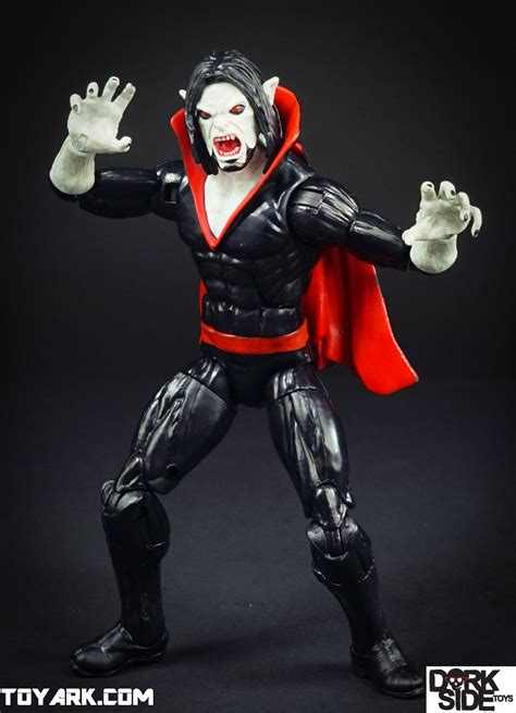 marvel legends morbius photo shoot  toyark news