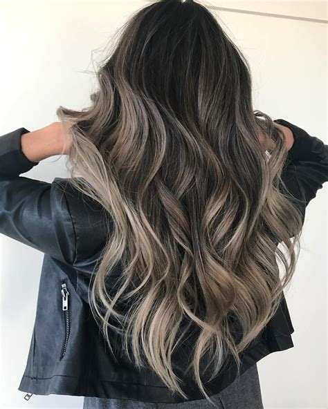 beautiful hair colors pin by on ash balayage in 2019 hair hair