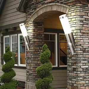Vorhänge Für Den Außenbereich : zwei led wandleuchten f r den au enbereich ~ Sanjose-hotels-ca.com Haus und Dekorationen