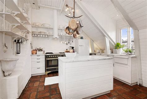 shabby chic apartment stunning attic apartment in modern and shabby chic styles digsdigs
