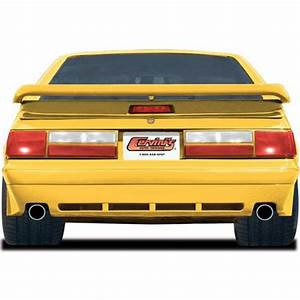 Mustang Lx Saleen Style Rear Valance  87-93  4302