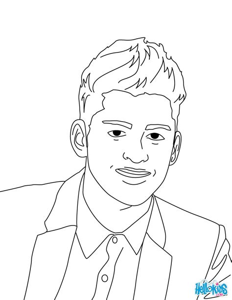 zayn malik coloring pages hellokidscom