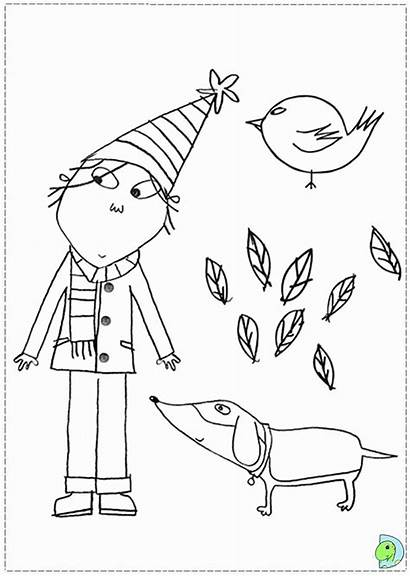 Coloring Lola Charlie Pages Clipart Library Clip