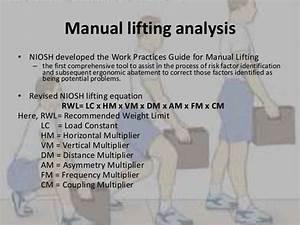 Biomechanical Analysis Of Lifting