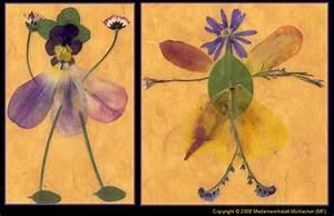 Aus Blättern Basteln : blumenelfen aus bl ttern und bl ten fotos 1 ~ Lizthompson.info Haus und Dekorationen