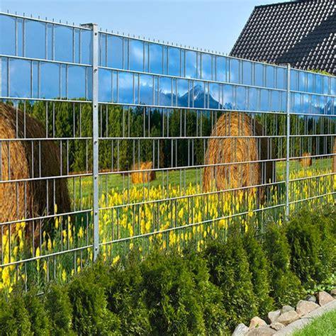 Sichtschutz Garten Ohne Zaun by Heuballen Doppelstabmatten Sichtschutzstreifen Ohne Pvc