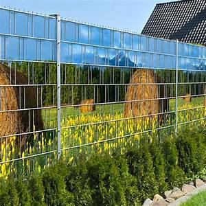 Sichtschutz Für Metallzaun : heuballen doppelstabmatten sichtschutzstreifen ohne pvc zaundruck shop sichtschutz ~ Sanjose-hotels-ca.com Haus und Dekorationen