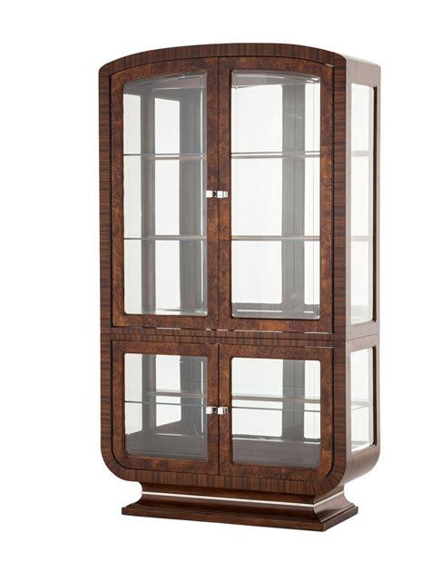 amini innovation tuscano traditional curio cabinet michael amini cloche traditional bourbon curio cabinet by aico Aico