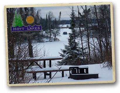 Hoyt Lakes Minnesota Winter