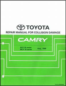 2002 Toyota Camry Solara Service Shop Repair Set Factory Dealership Oem 2 Volume Set Wiring Diagrams And The Automatic Transmission Volume 1 C