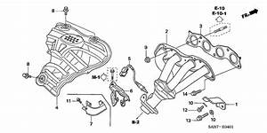 Exhaust Manifold For 2007 Honda Jazz Gd1