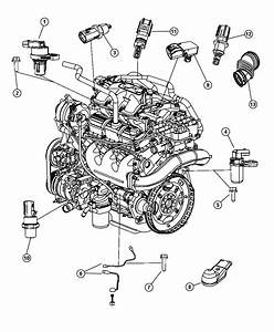 Chrysler Town  U0026 Country Sensor  Camshaft    Electronic Gas Actuator    Swirl And Flap    Egr Temp