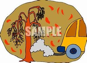 Bus Pollution Clipart