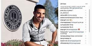 Drake (the rapper) drops hint at Drake (the university ...