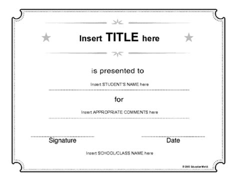 Stem Certificate Template by Free Printable Blank Certificate Templates The