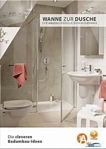 Wanne Zur Dusche : barrierefreies bad wanne zur dusche begehbare badewanne bad teilsanierung mit system ~ Watch28wear.com Haus und Dekorationen