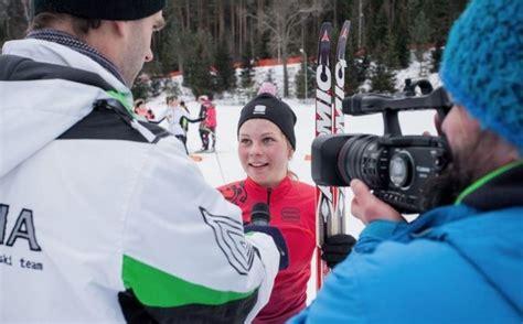 17 gadus vecajai Patrīcijai Eidukai nebijis sasniegums Latvijas slēpošanas vēsturē