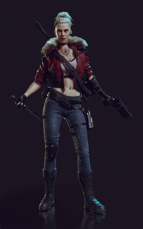 Art Station Female Assassin