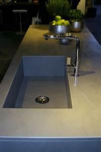 evier de cuisine integre au plan de travail With plan de travail cuisine avec evier integre