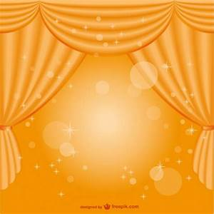 yellow curtain background vector free download With yellow stage curtains