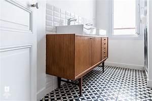 Commode De Salle De Bain : populaire transformer commode en meuble salle de bains ~ Dailycaller-alerts.com Idées de Décoration