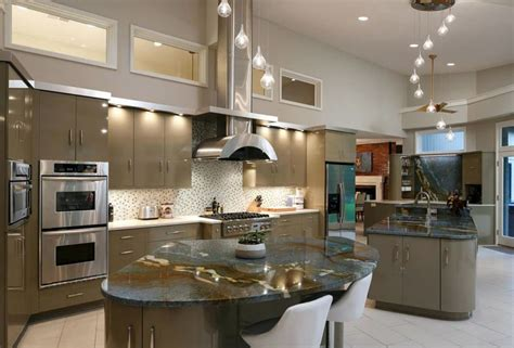wide kitchen island 27 amazing island kitchens design ideas 1101