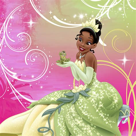 princess and the frog sparkle supplies beverage napkins at toystop