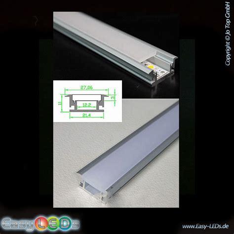 led lichtleiste 2m led aluminium profil 2m bodeneinbau ip44 kaufen