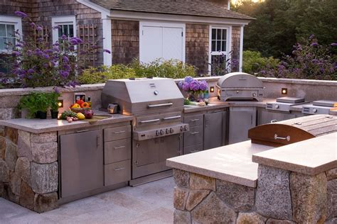 designs for outdoor kitchens kalamazoo stainless steel cabinets outdoor kitchen 6677