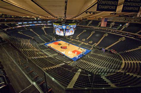Madison Square Garden  Stadium In New York City