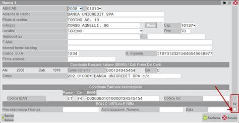 ricerca codici iban banche italiane inserire la dettaglio pillola