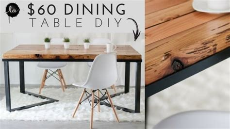 easy diy dining tables   build   budget
