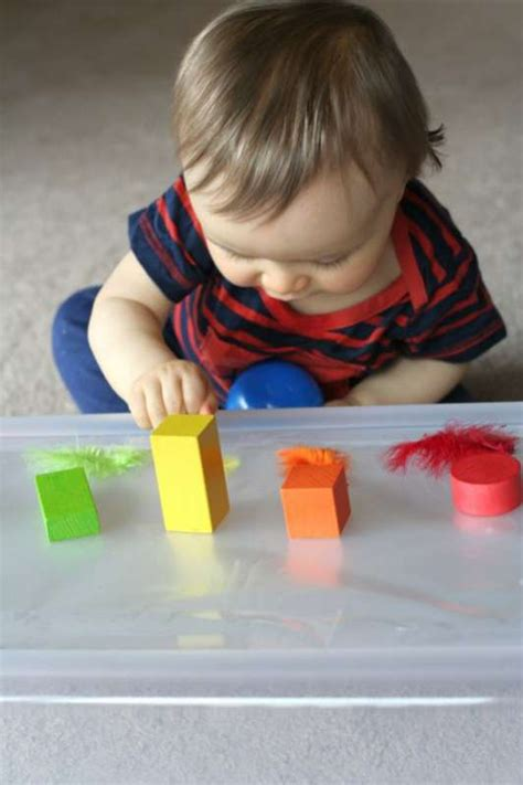 Baby Play: Exploring Sticky from Fun At Home With Kids