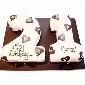 21st Birthday Cake - Buy Online, Free UK Delivery – New Cakes