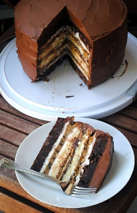 s more cake brownie cheesecake marshmallow and more 7 layer s mores
