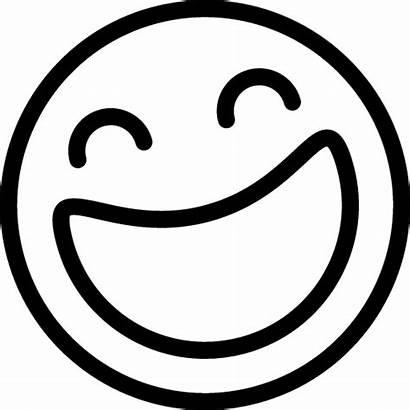 Emoji Laughing Icon Clipart Face Boyama Icons