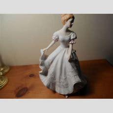 Lady Caroline Masterpiece Porcelain Figurine Vintage Home