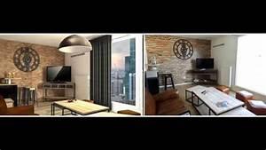 Deco Style Industriel : projet de d coration int rieure style industriel youtube ~ Melissatoandfro.com Idées de Décoration