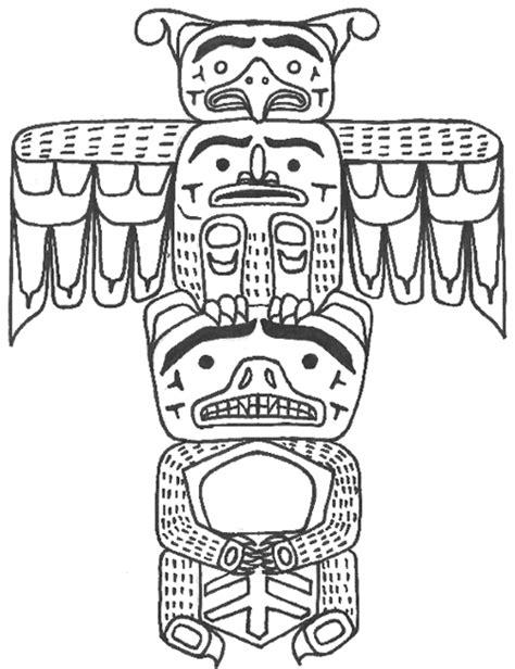 Totem Pole Bear Template totem pole templates totem pole education living