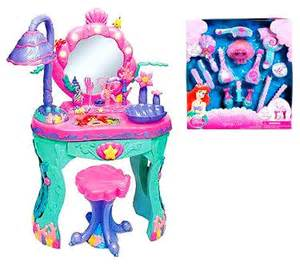 disney little mermaid ariel interactive vanity ocean salon