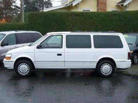 1993 Dodge Caravan by 1993 Dodge Caravan Seattle Tacoma Bellevue Everett Wa