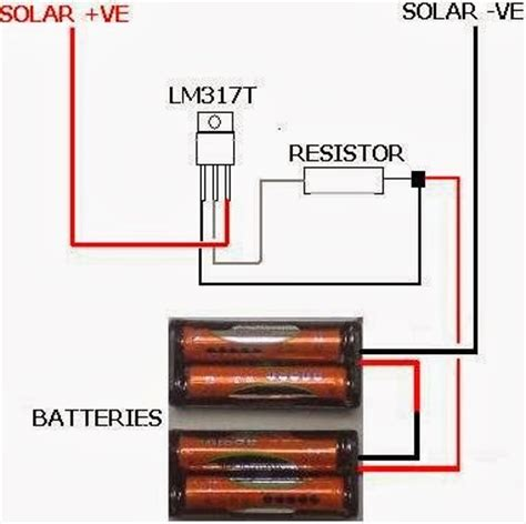 Simple Solar Battery Charger With Circuit Diagram