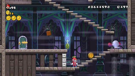 World 7 Ghost House New Super Mario Bros Wii Super