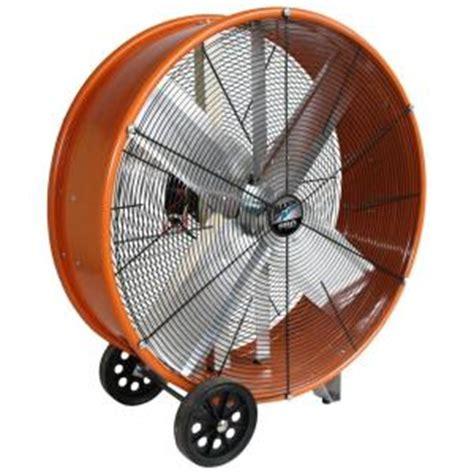 home depot barrel fan maxxair 30 in industrial heavy duty 2 speed pro drum fan