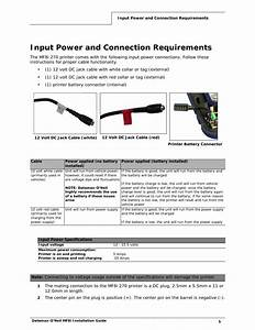 Input Power And Connection Requirements