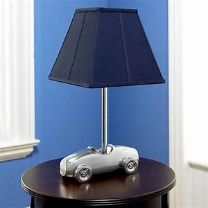 Furniture fashionboys room decorating race car table lamp for Cars 2 table lamp