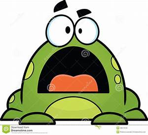 Green Cartoon Frog stock vector. Image of drawing, frog ...