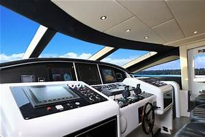 Motor Yacht MOSKING Cockpit Luxury Yacht Browser By