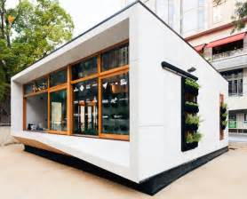 Small Green Home Designs Photo by Australia S Carbon Positive Prefab House Produces
